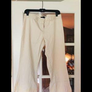Moda international beige khaki pants sz 8